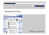 Cebit-Special bei Xonio.com 2008