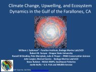 Climate Change, Upwelling, and Ecosystem Dynamics in the Gulf of ...