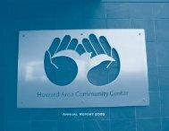 Annual Report 2002 - Howard Area Community Center
