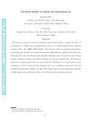 Ab Initio Studies of Liquid and Amorphous Ge