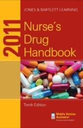 005-2011 Nurse's Drug Handbook, 10th Edition-Jones & Bartlett Learning-0763792381-Jones & Bartlet