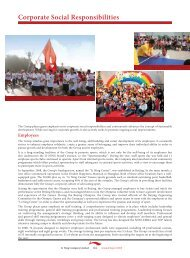 2008 Corporate Social Responsibility Report - Li Ning