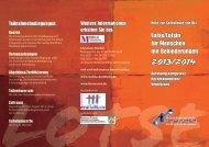 Flyer - Lotsen/Lotsinnen für Menschen mit Behinderungen NRW