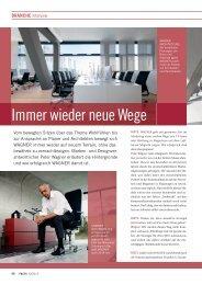 Immer wieder neue Wege - FACTS Verlag GmbH