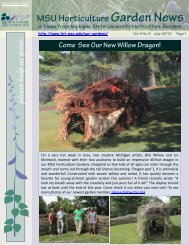2012 5 July eNewsletter - 6 pages - Department of Horticulture ...