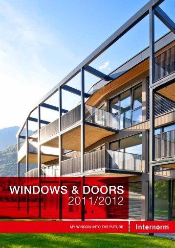Internorm brochure - Build It Green