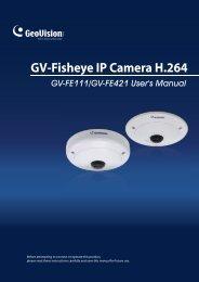 Geovision Fisheye IP Camera User Manual - Use-IP