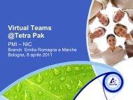 Virtual Teams @Tetra Pak - PMI-NIC