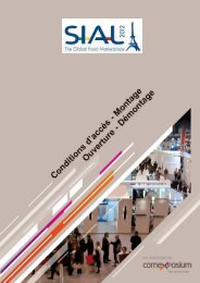 SIAL 2012 - Guide Exposant FR v1h - Espace Exposant SIAL 2014 ...