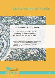 1 ECTL Working Paper - Institut für Verkehrsplanung und Logistik ...