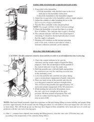 Liquid Oxygen Base and Portable Liquid Oxygen System