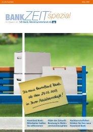 zum Nachbarschaftsfest! - VR-Bank Westmünsterland eG
