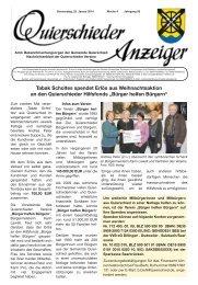 Bürger helfen Bürgern - Gemeinde Quierschied