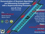 Demonstration of Quantum Algorithms and Witnessing ...