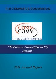 2011 Annual Report - The Commerce Commission