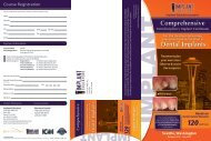 Comprehensive Dental Implants - BioHorizons