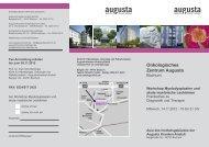 Onkologisches Zentrum Augusta - onkologie-klinik