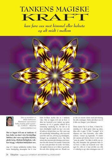 Tankens magiske kraft - Ildsjelen