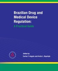 Brazilian Drug and Medical Device Regulation - Food and Drug Law ...