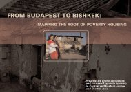 Europe and Central Asia Poverty Study - Habitat for Humanity