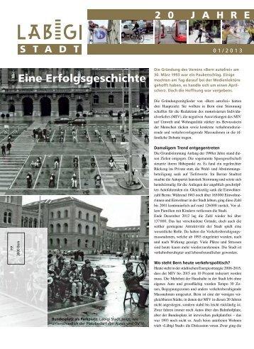 Eine Erfolgsgeschichte - Läbigi Stadt