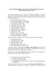 Ata da 3ª Reunião Ordinária do Conselho Consultivo do ... - Abema