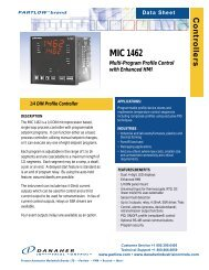 Multi-Program Profile Control with Enhanced HMI ... - Temp-Press Inc