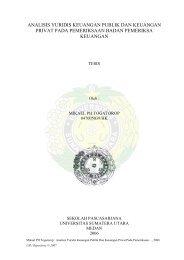 analisis yuridis keuangan publik dan keuangan privat pada ...