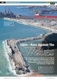 Port Gijon: Racing against the waves - CEDA Conferences