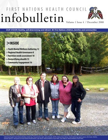 FNHC Infobulletin Volume 1 Issue 4 | December 2008 - First Nations ...