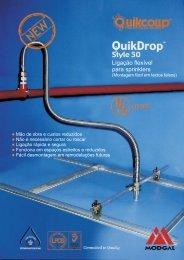 Ligação flexível para sprinklers - tubtec