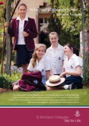 St Michael's Collegiate School - Boarding Schools