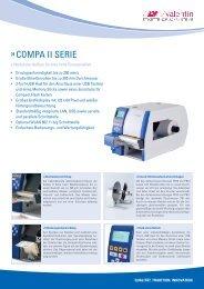 Prospekt Compa II Serie - Carl Valentin GmbH