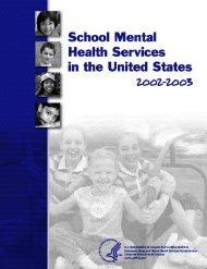 School mental health cover - ERIC - U.S. Department of Education