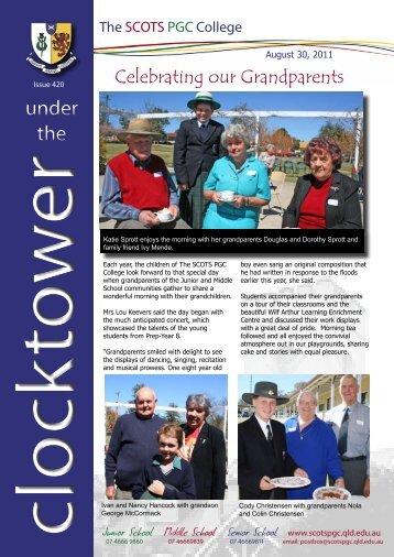 Clocktower 420 - Celebrating our Grandparents.pdf - The SCOTS ...