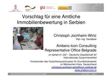 (Microsoft PowerPoint - Vorschlag f\374r Amtliche Wertermittlung in ...