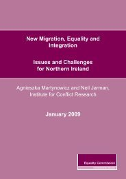 New Migration book.indd - Equality Commission Northern Ireland