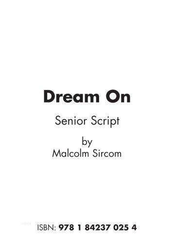 Script Dream On Senior.pdf - Musicline