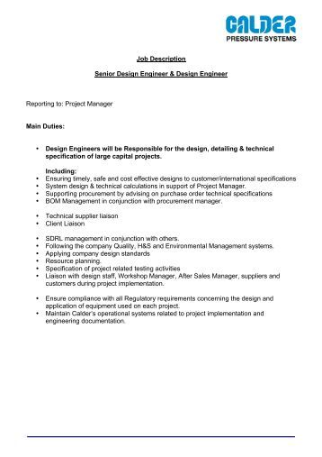Systems Engineer Job Description. Gm Job Description Job