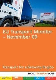 EU Transport Monitor – November 09