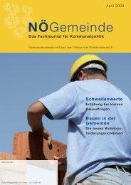 3) NÖ Gemeinde April 2009 - Gemeindevertreterverband der VP ...