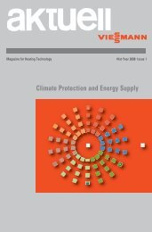 Climate Protection and Energy Supply
