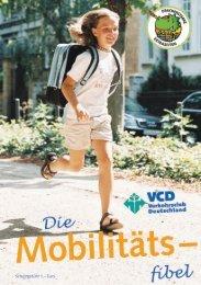 Die neue VCD-Mobilitätsfibel 2012 - VRS