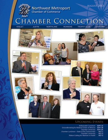 August 2013 Newsletter - Northwest Metroport Chamber of Commerce
