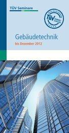 Gebäudetechnik - TÜV Saarland Bildung + Consulting GmbH
