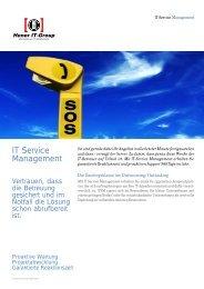 IT Service Management - Hener IT-Group GmbH