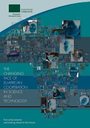 The changing face of eU-african cooperaTion in science and ...