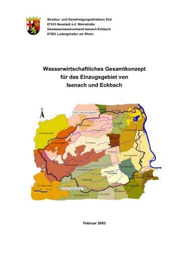 Wasserwirtschaftliches Gesamtkonzept für das Einzugsgebiet von ...