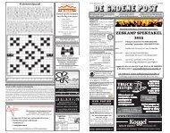 De Groene Post, editie 3 juli - Boekhandel en Drukkerij Spijkerman