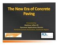 The New Era of Concrete Paving - American Concrete Pavement ...